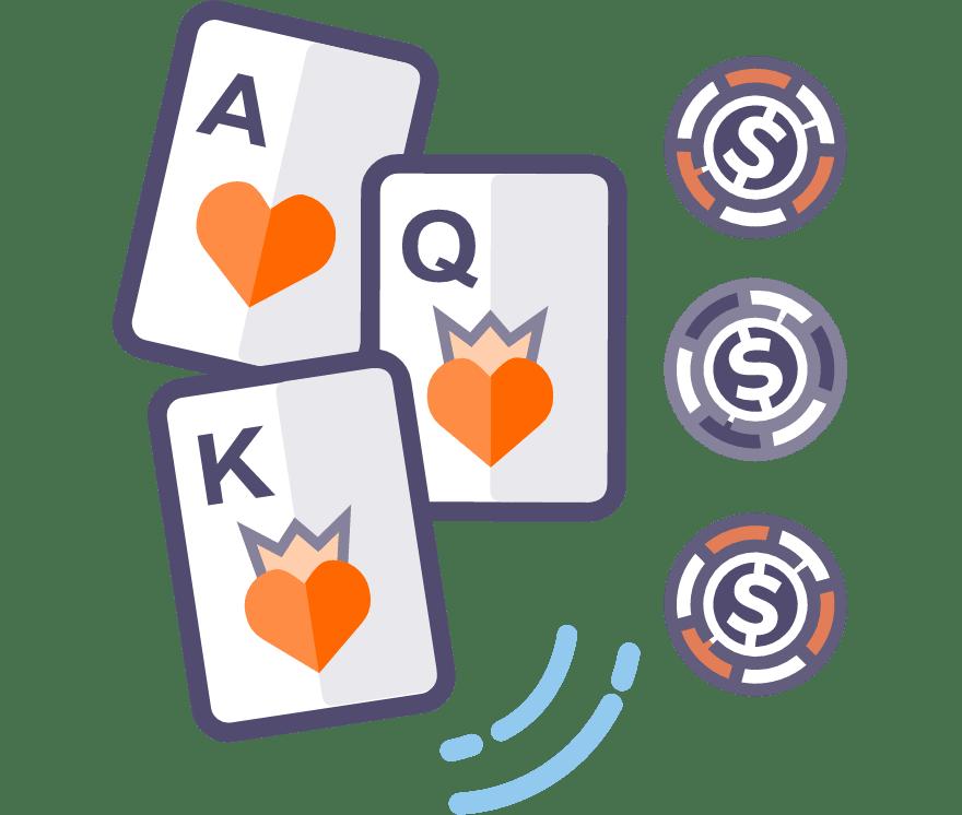 Los 55 mejores sitios de Casino de Póker de tres cartas en línea en Chile